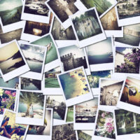 A collage of travel photos of my six months of traveling