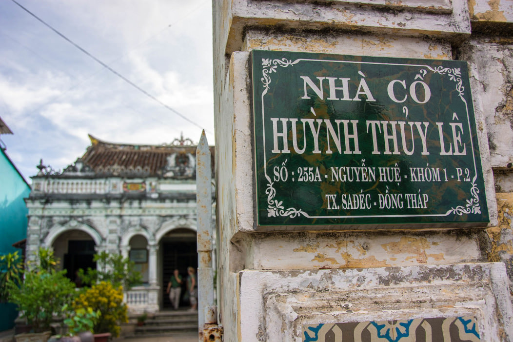 "The house of Huynh Thuy Le in Sa Dec Vietnam. It was filmed in Marguerite Duras's film ""The Lover""."