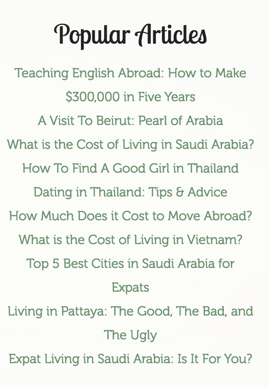 When one is trying to create a top blog in any category, winning titles like the ones shown here are paramount. Blog titles must always be catchy and appealing.