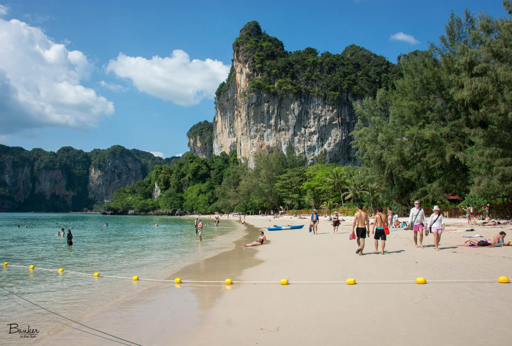 Food And Restaurant In Railay Beach Thailand